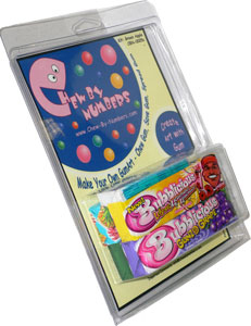 Chew-By-Numbers Gum Art Kit